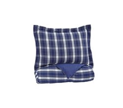 Beautyrest Duvet Sets in Twin Size ashley furniture baret blue duvet cover set