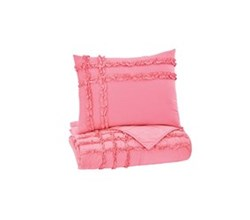 Beautyrest Quilt Sets in Twin Size ashley furniture megara pink quilt set
