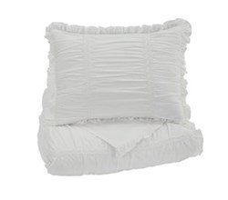 Beautyrest Duvet Sets in Twin Size ashley furniture brently white duvet cover set