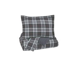 Beautyrest Duvet Sets in Full Size ashley furniture baret gray duvet cover set