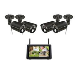 Uniden Video Surveillance 4 Camera Systems uniden udr777hd 4 camera Kit