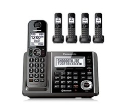 Panasonic DECT 6 Cordless Phones panasonic kx tg585sk r