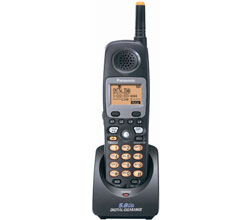 Panasonic 58GHz Cordless Phones KX TGA450