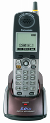Panasonic 58GHz Cordless Phones KX TGA550M