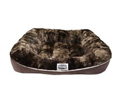 Simmons Pet Beds  simmons absolute rest large chocolate pet bed large