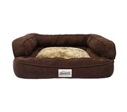 Simmons Pet Beds  beautyrest colossal rest large corduroy brown pet bed large
