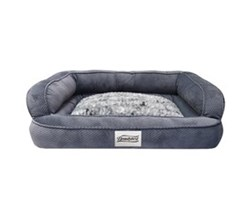 Simmons Pet Beds  beautyrest colossal rest large corduroy silver pet bed