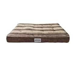 Simmons Pet Beds  beautyrest memory snooze corduroy brown pet bed