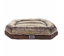 Simmons Pet Beds  simmons comfort plus eight medium corduroy brown pet bed