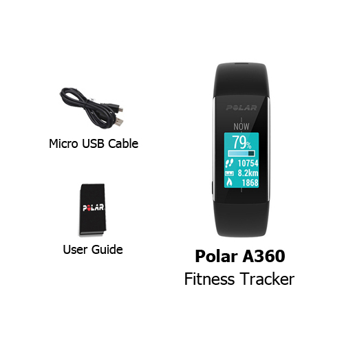 A360 Fitness Tracker With Heart Rate