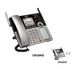 Wall Mountable Phones vtech cm18445 small business phone system starter bundle
