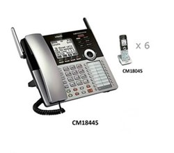 Analog Phone Systems vtech cm18445 + 6 cm18045