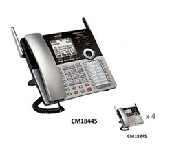 Analog Phone System Corded Bundles vtech cm18445 small business phone system starter bundle