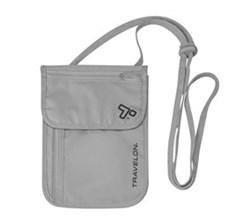 Travelon RFID Wallets travelon rfid blocking undergarment neck pouch