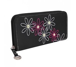 Travelon RFID Wallets travelon safe id daisy ladies wallet