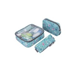 Travelon Packables 3 piece toiletry packing set