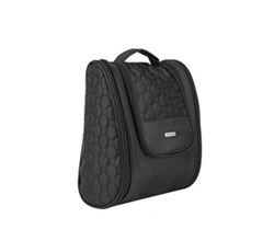 Travelon Toiletry Kits travelon 3 compartment hanging toiletry kit