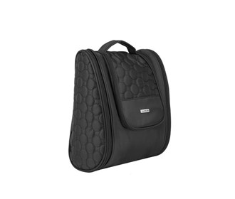 travelon 3 compartment hanging toiletry kit
