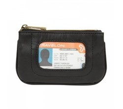 Travelon RFID Wallets travelon rfid blocking leather id pouch
