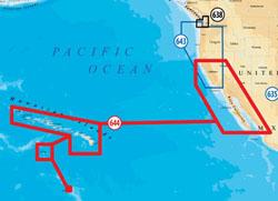 Navionic Software navionics platinum plus hawaii california south to baja