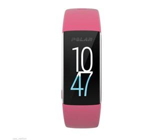 polar a360 fitness tracker pink