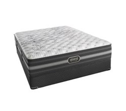 Simmons Beautyrest King Size Luxury Extra Firm Top Mattresses Calista King XF Std Set N