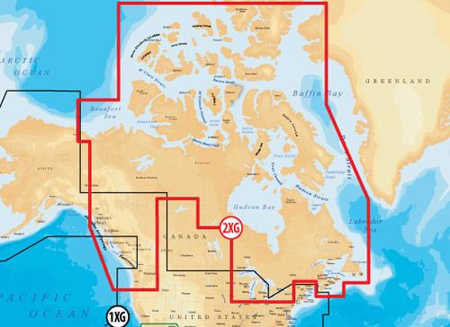 navionics gold canada and southeast alaska raymarine