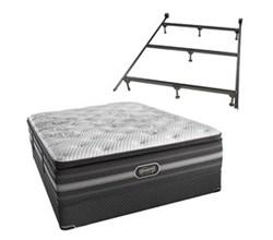 Simmons Queen Size Luxury Firm Pillow Top Comfort Mattresses simmons katarina queen lfpt std set with frame