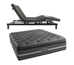 Simmons Beautyrest King Size Luxury Firm Pillow Top Comfort Mattress and Adjustable Bases simmons natasha