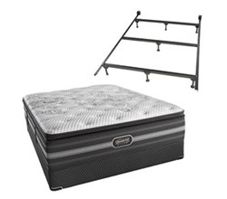 Simmons Beautyrest Twin Size Luxury Plush Comfort Mattresses simmons katarina twinxl pl std set with frame