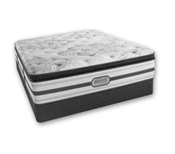 Simmons Beautyrest Queen Size Luxury Plush Pillow Top Comfort Mattress and Box Spring Sets simmons doris