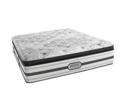 Simmons California King Size Beautyrest Luxury Plush Pillow Top Mattress simmons doris