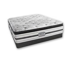Simmons Beautyrest California King Size Luxury Plush Pillow Top Comfort Mattress and Box Spring Sets simmons doris