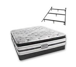 Simmons California King Size Beautyrest Luxury Plush Pillow Top Mattress simmons doris