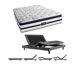 Simmons  Beautyrest Twin Size Luxury Firm Pillow Top Comfort Mattresses N Hanover Twin LFPT Mattress w Base N