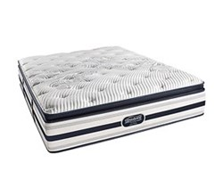 Simmons Beautyrest Queen Size Luxury Firm Pillow Top Comfort Mattress Only Ford Queen LFPT Mattress