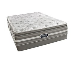 Simmons Beautyrest Twin Size Luxury Plush Plillow Top Comfort Mattress and Box Spring Sets simmons salem twin ppt low pro set