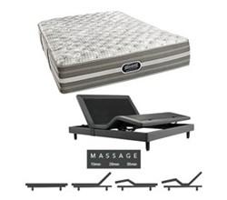 Simmons Beautyrest King Size Luxury Firm Comfort Mattress and Adjustable Bases simmons shorecliffs king uf mattress w mass base