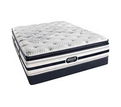 Simmons Beautyrest California King Size Luxury Firm Pillow Top Comfort Mattress and Box Spring Sets Ford CalKing LFPT Low Pro Set