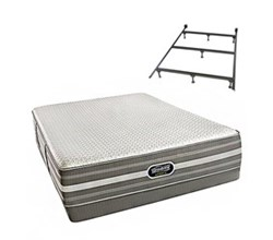 Simmons Beautyrest Full Size Luxury Extra Firm Comfort Mattress and Box Spring Sets With Frame simmons new life