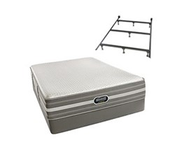 Simmons Beautyrest Queen Size Luxury Firm Comfort Mattress and Box Spring Sets With Frame simmons new life