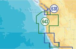 Navionics United States West Maps navionics platinum plus oregon and california lowrance