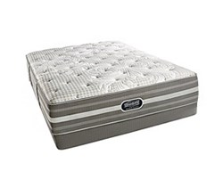 Simmons Beautyrest Full Size Luxury Extra Firm Comfort Mattress and Box Spring Sets Smyrna Full LF Low Pro Set