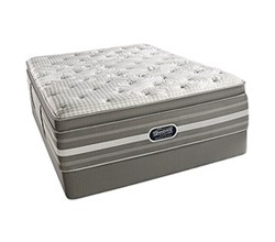 Simmons Beautyrest Twin Size Luxury Firm Plillow Top Comfort Mattress and Box Spring Sets Smyrna Twin LFPT Std Set