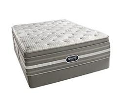 Simmons Beautyrest Queen Size Luxury Firm Pillow Top Comfort Mattress and Box Spring Sets Smyrna Queen LFPT Std Set