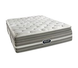 Simmons Beautyrest California King Size Luxury Firm Pillow Top Comfort Mattress Only Smyrna CalKing LFPT Mattress
