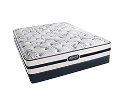 Simmons Beautyrest Queen Size Luxury Plush Comfort Mattress and Box Spring Sets N Hanover Queen PL Low Pro Set N