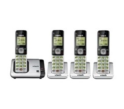 VTech 4 Handsets Wall Phones   vtech cs6719 4