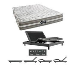 Simmons Beautyrest King Size Luxury Firm Comfort Mattress and Adjustable Bases simmons salem king xf mattress w mass base