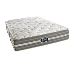 Simmons Beautyrest Queen Size Luxury Plush Comfort Mattress Only Smyrna Full PL Mattress w Mass Base